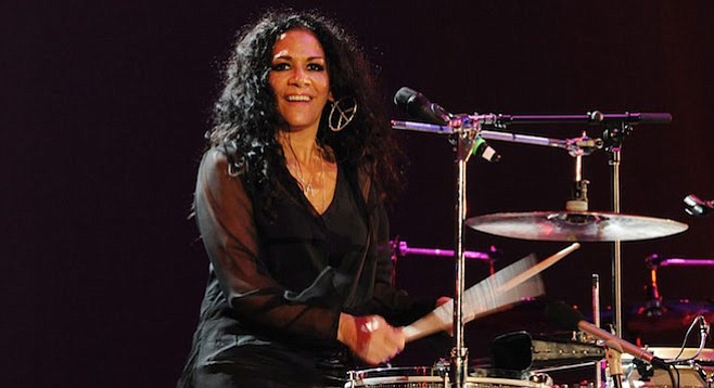 Prince's former music director and fiancée, Sheila E, is also the niece of two famous San Diego musicos.