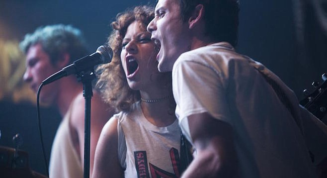 Alia Shawkat and Anton Yelchin need to kill their booking agent in Green Room