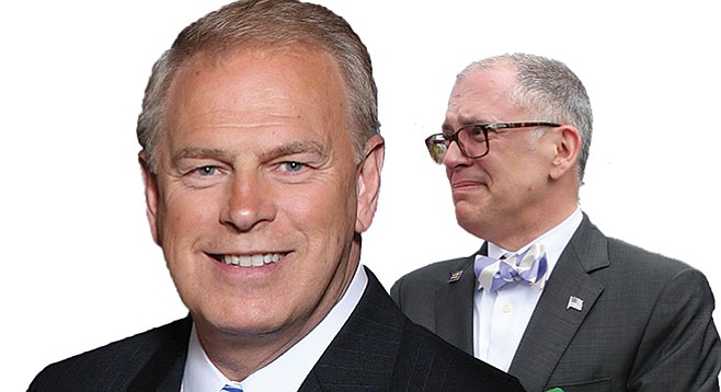 Fundraiser in La Jolla? Count them in: Ted Strickland (benificiary) and Jim Obergefell (special guest)