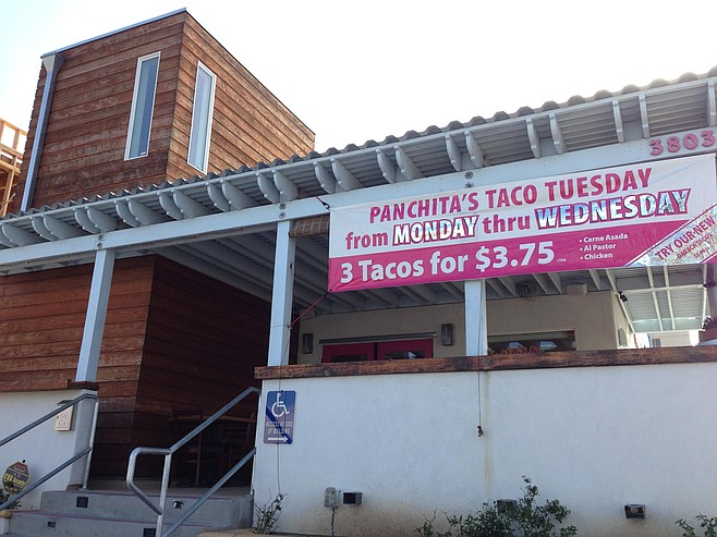 This Panchita's has a drive-through, so you can get pan dulce on the go and maybe a few empanadas while you're at it.