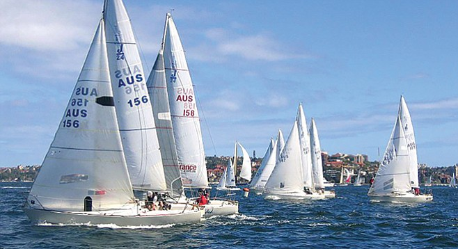 Yachting Cup, April 29 through May 1
