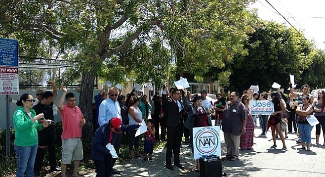 """""""Mayor Kevin Faulconer has not taken a stance for tenant rights.... He hasn't done that."""""""