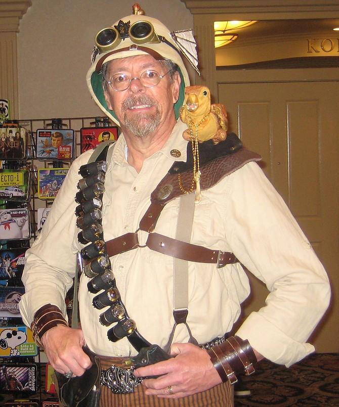 Bob Mogg with Pterodactylus