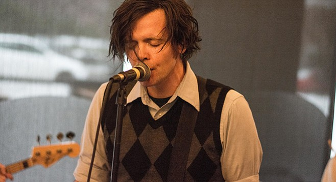 Beach Slanger James Alex did his band well by performing solo on NPR's Tiny Desk Concerts.