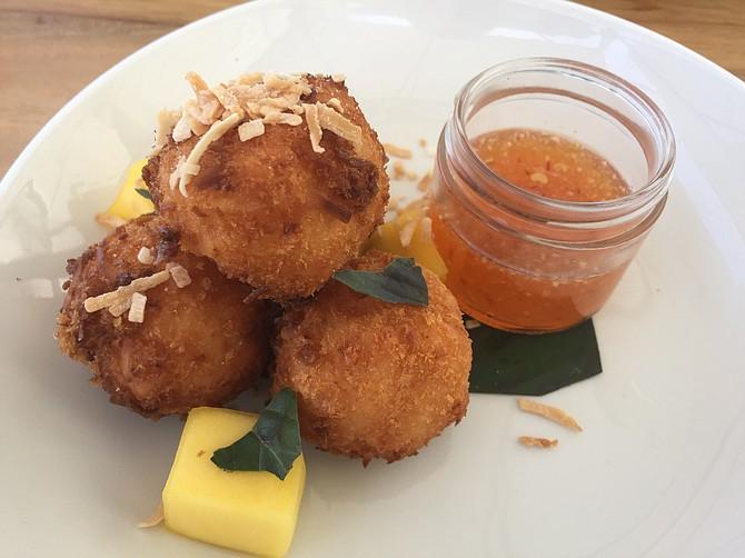 Coconut-Shrimp Croquettes