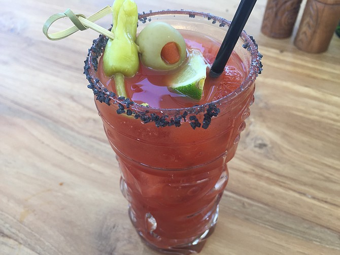 Black Salt Bloody Mary