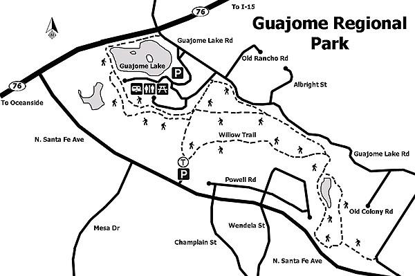 Guajome trail map