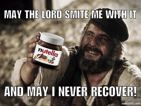 """""""May the Lord smite me with it, and may I never recover."""""""