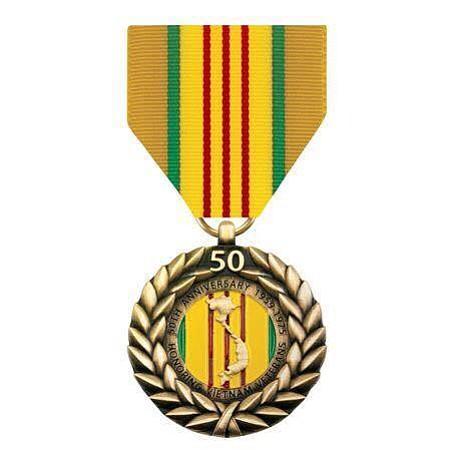 50th Anniversary Vietnam War Commemorative Medal