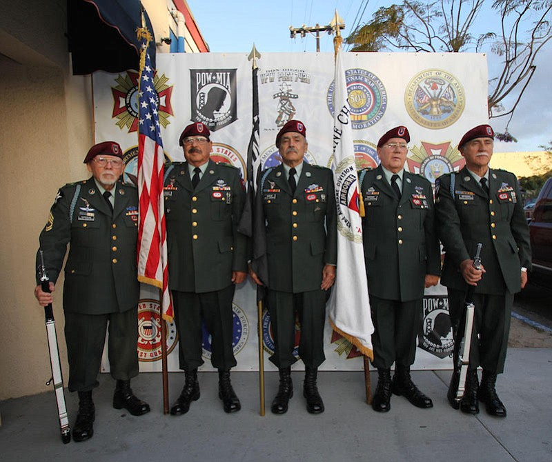 82nd Airborne Color Guard