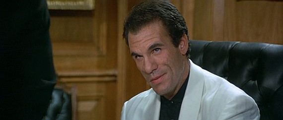 After Christopher Lee, there isn't a better post-Connery Bond villain than Davi's Franz Sanchez in Licence to Kill