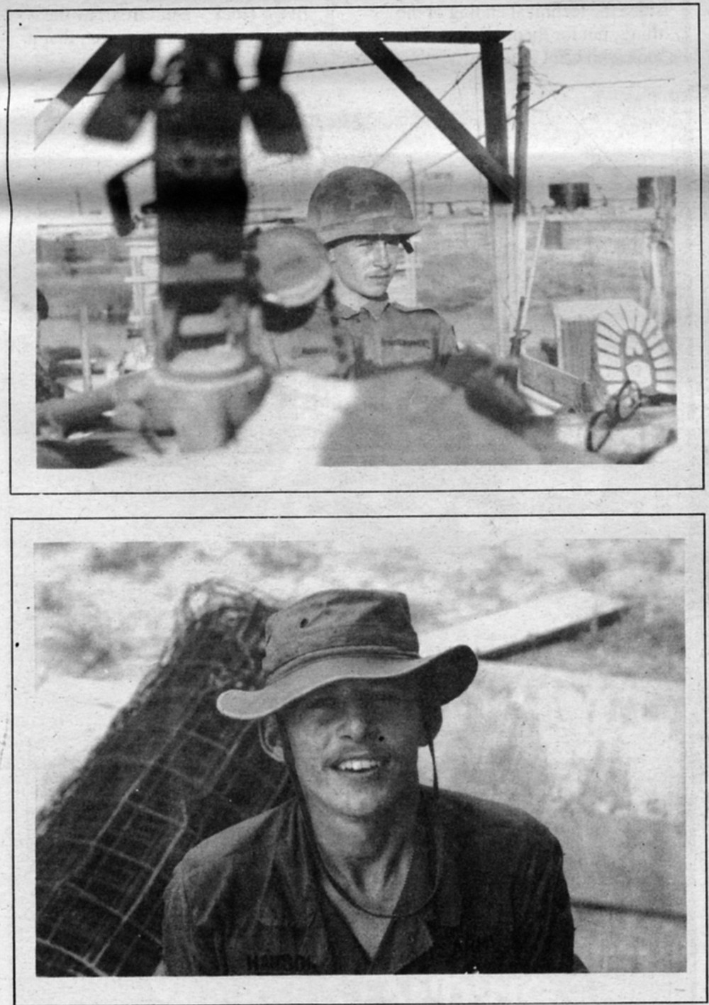 Dong Tam, 1968. We went immediately to what we had been doing in the war, what units we belonged to, and who else from Hilltop we had seen or had come across over there.