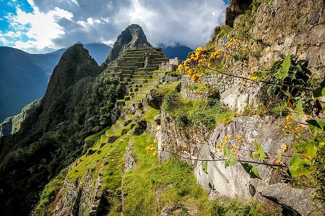 A view of Macchu Picchu