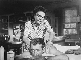 And who among us wouldn't want a rubdown from the golden hands of Thelma Ritter?