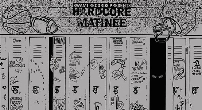 """By putting 22 local bands on Hardcore Matinee, John """"Swami"""" Reis offers value and a journey back in time."""