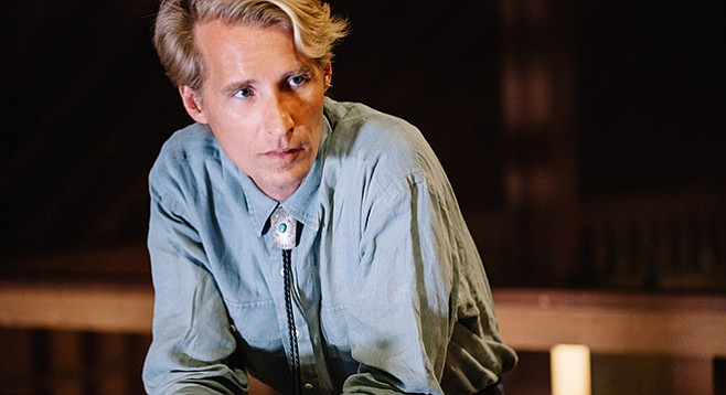 """Tom Brosseau: """"I'm from Grand Forks, North Dakota. I play folk music. I'm new in town. I have an album of music for sale. I know you'll like it."""""""