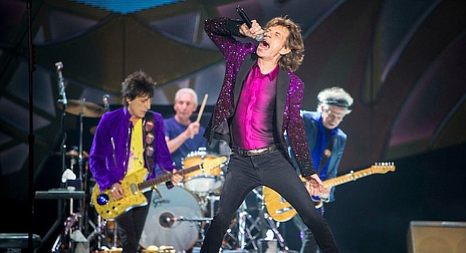 The Stones roll a little differently these days...