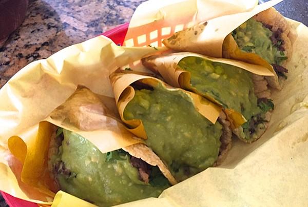 Taqueria Revolucion's tacos con todo