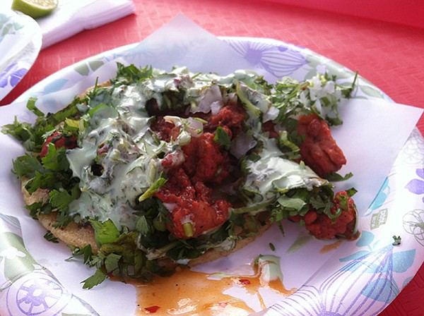 Adobada at Tacos el Gordo