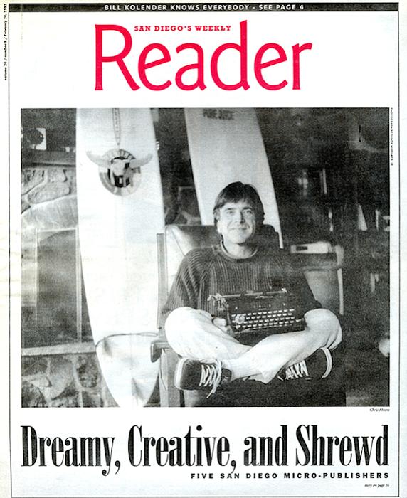 Chris Ahrens on February 20, 1997 cover