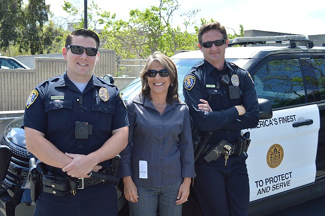 Councilmember Zapf on police ride-along in April