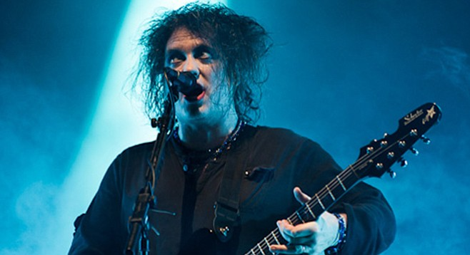 The Cure and singer/songwriter/bigwig Robert Smith roll into Sleep Train Friday night.