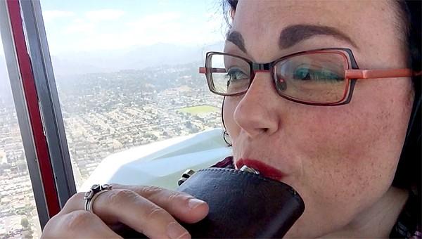 Enjoying Lady Grace Drummond-Hay at 1000 feet