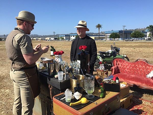 The Hendrick's Gin Bar
