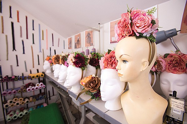 Tipton's first design studio was in her sister's Chula Vista garage.
