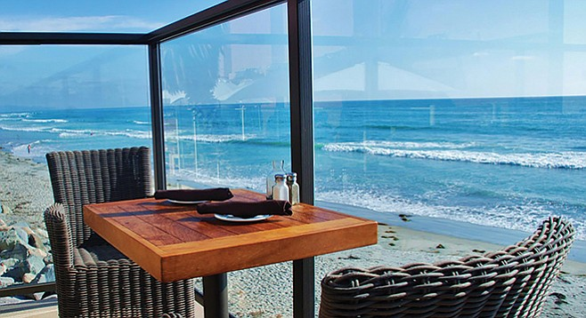 View from Pacific Coast Grill