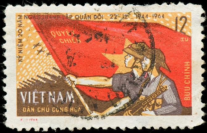 Vietnamese postage stamp - Image by Veronika Roosimaa/iStock/Thinkstock