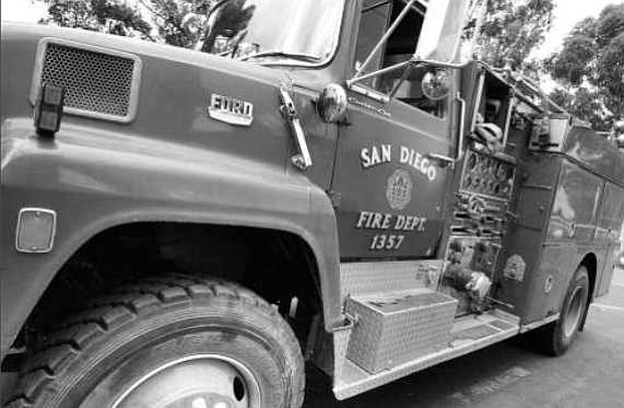 1978 Ford brush rig - Image by Joe Klein