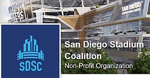 From the San Diego Stadium Coalition Facebook page - May 2016