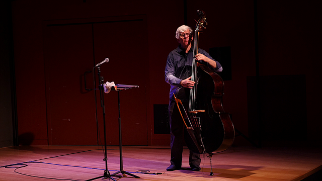Bassist Mark Dresser joins Jones Jones on Tuesday at the Loft at UCSD.  - Image by Kyle Johnson
