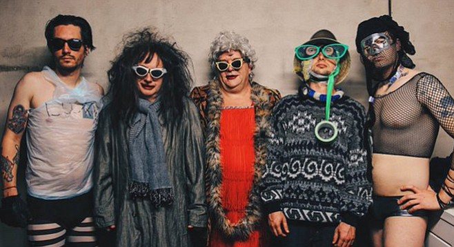 Odd-pop maestro Gary Wilson and his Blind Dates play Brick by Brick on Friday.