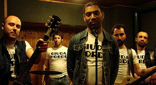 Giuda fancies bubblegum and tougher mixes like Slade and T. Rex and the Buzzcocks...