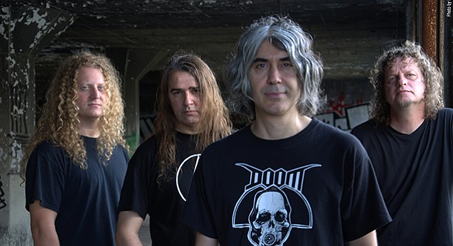 Brick by Brick stages the hard-rocking Canada band Voivod on Wednesday.
