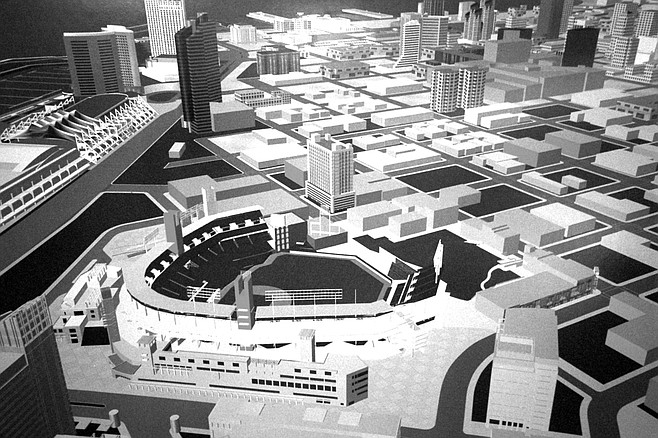 Proposed downtown ballpark