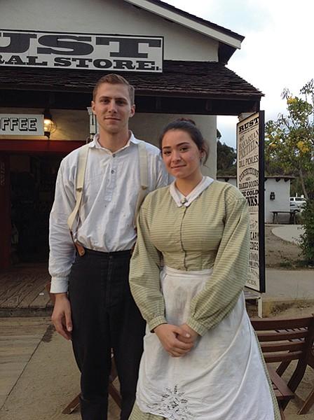 California Gothic? Mr. Abraham and Miss Johnson