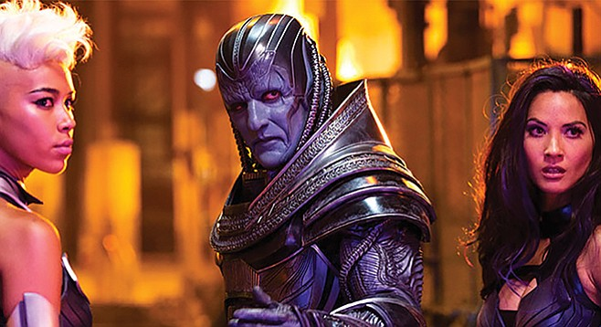 "X-Men: Apocalypse: ""I think of them as the Sheila E and Sheena Easton to my Prince. Although I'm admittedly more blue than purple."""