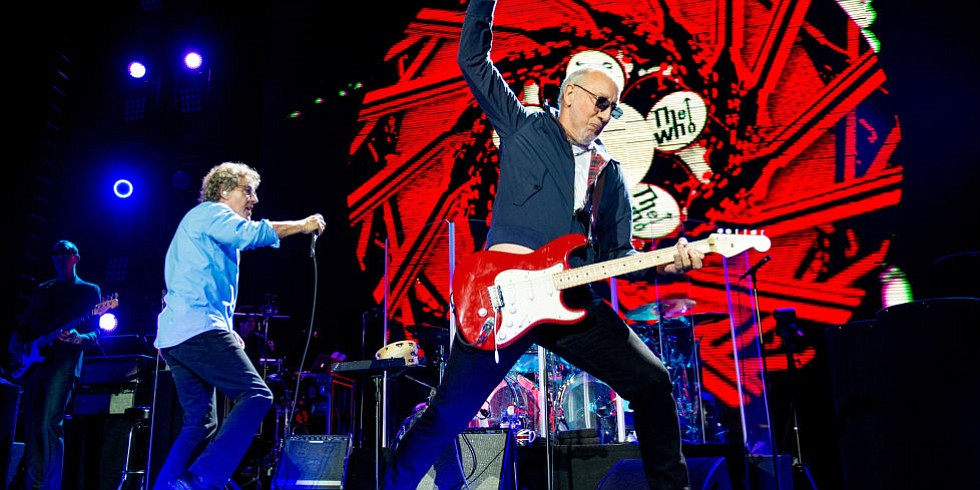 British arena-rock band the Who will rock our Valley View Arena Friday night!