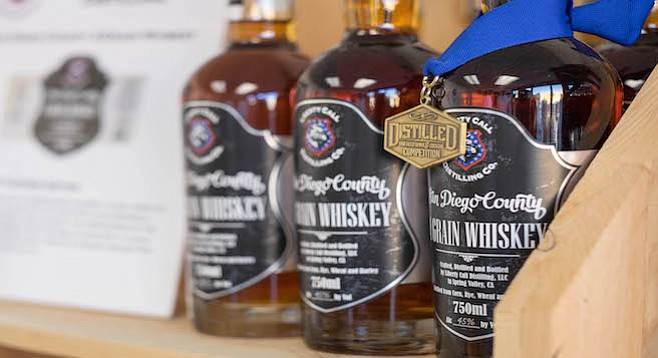 """Liberty Call Distilling cofounder Bill Rogers says, """"In the next year, we're moving hard core into whiskey."""" - Image by Andy Boyd"""