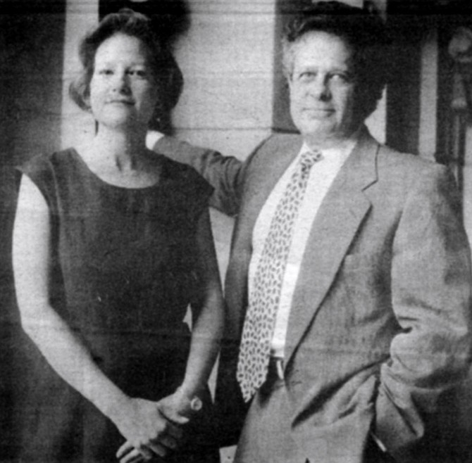 """Diana Gaston and Arthur Ollman. The board told Ollman that he could set the tone at MoPA and that they'd raise the money. """"Everything was true but the last part."""" - Image by Sandy Huffaker, Jr."""