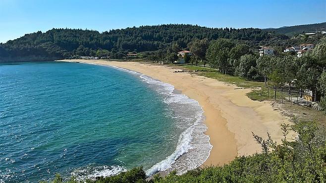 Another pristine Sithonia beach.