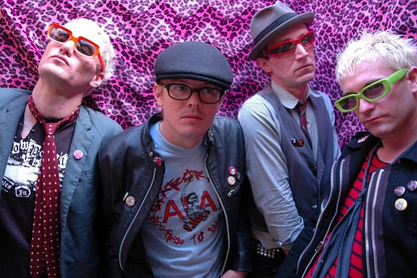The Soda stages punk-rawk Seattle act the Briefs on Tuesday!