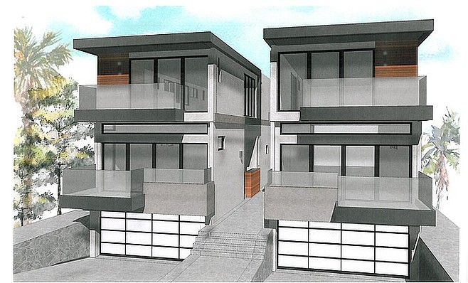 Plans by project architect Scot Frontis