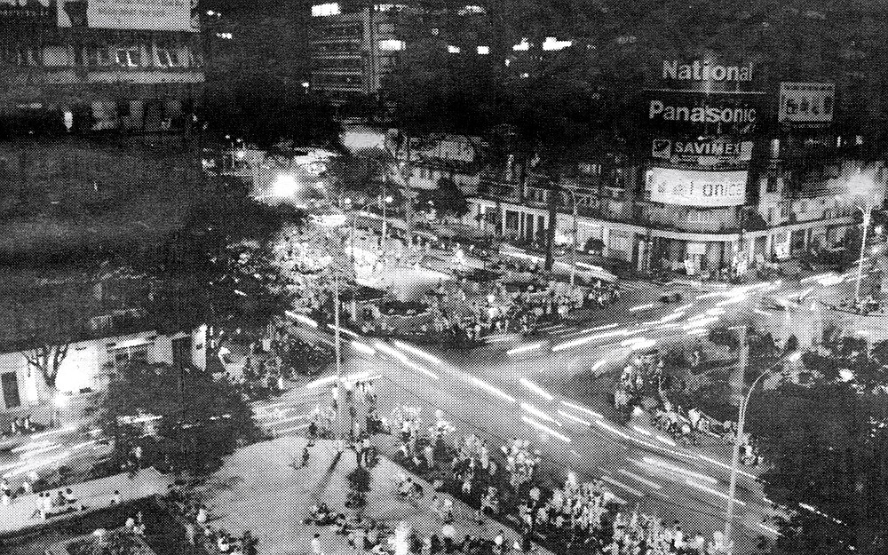 Ho Chi Minh City from the Rex Hotel. Every person here still says Saigon. T-shirts for sale on every corner say Saigon.