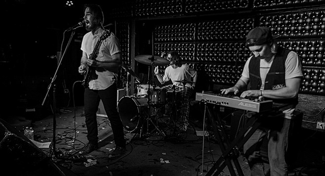 """Grim Slippers fashions dubstep and techno from their rock-trio format and has Gigtown to thank for sparing them from """"selling themselves."""""""