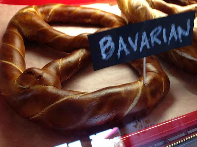 The big, twisted Bavarian pretzel