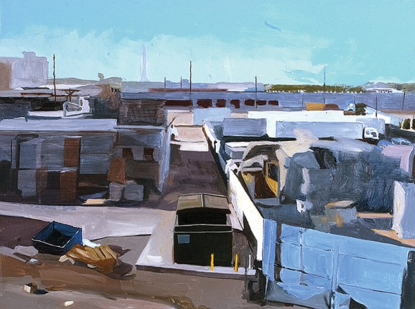 Recycle Yard, by Kim Reasor